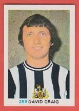 Newcastle United David Craig Northern Ireland 259